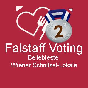 Liebhaberei Falstaff Voting 2. Platz